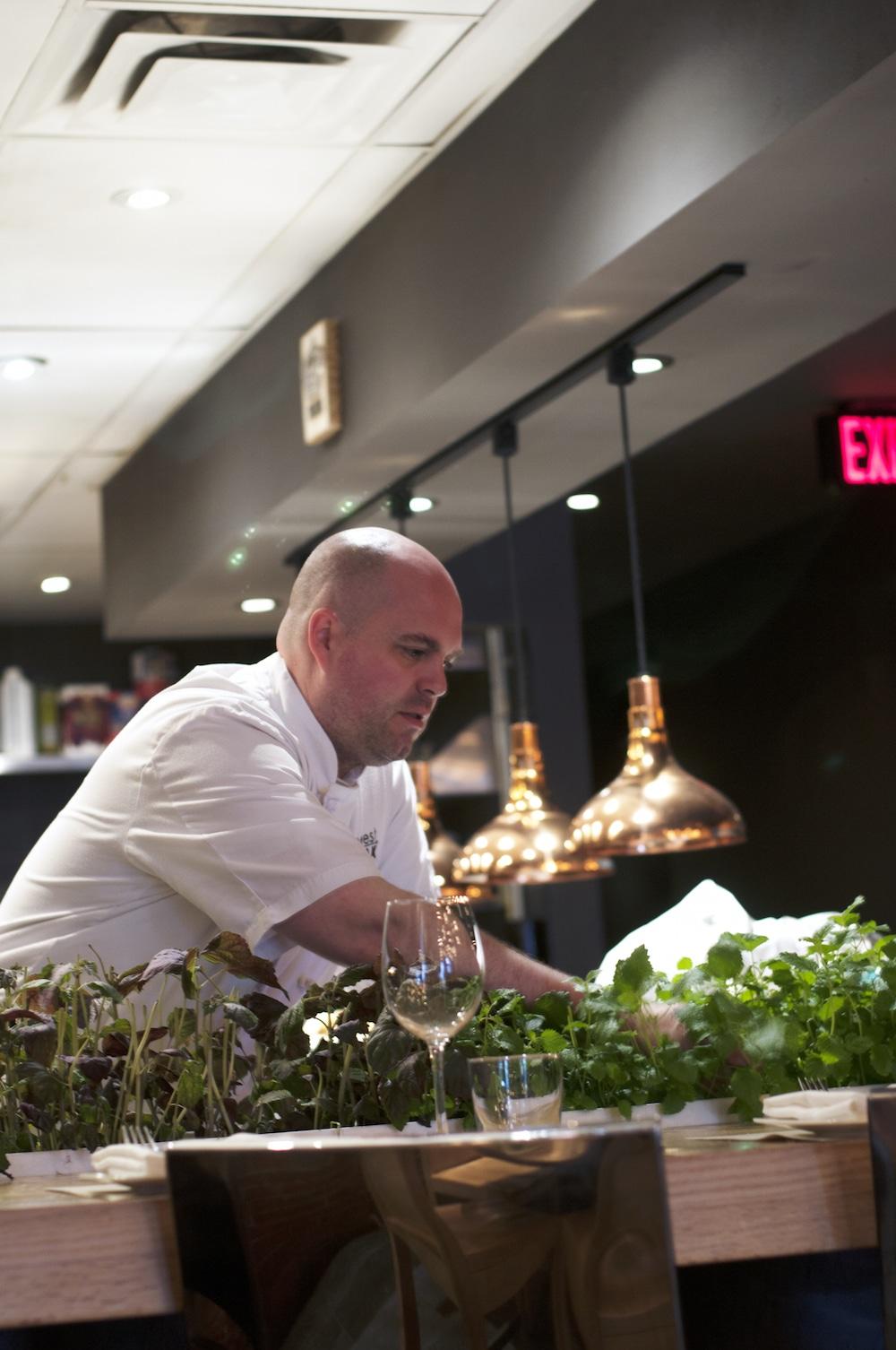 Tim Cuff, West Oak's Executive Chef